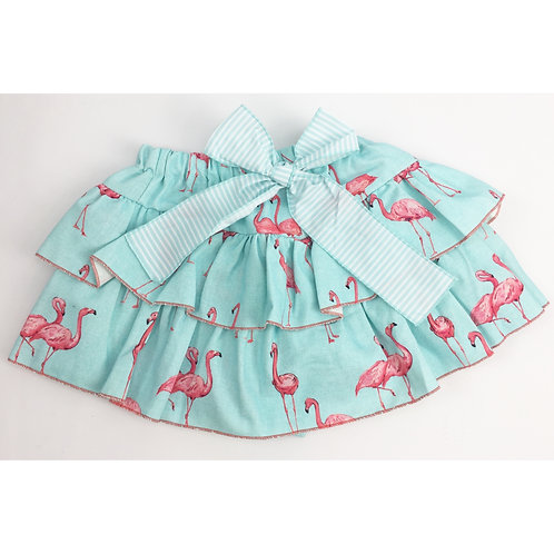 Phi Flamingo Skirt