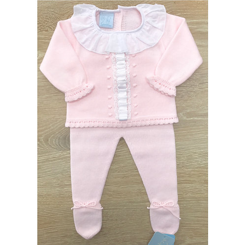 Granlei Pink Ribbon Baby Set