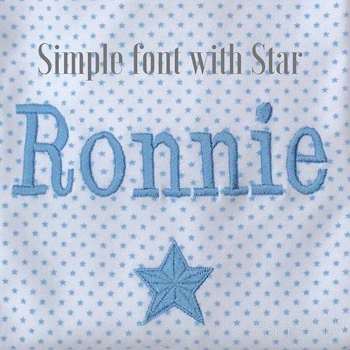 Minhon Blue Star Pyjamas
