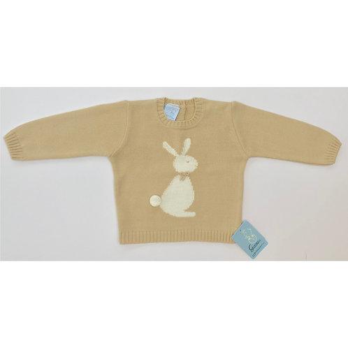 Granlei Beige Bunny Jumper