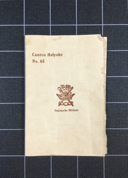 Canton Holyoke No. 65 (n. d.)