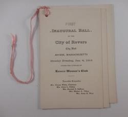 First Inaugural Ball (1915)