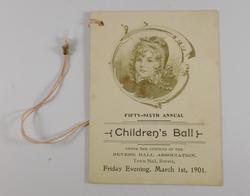 56th Annual Childrens Ball (1901)