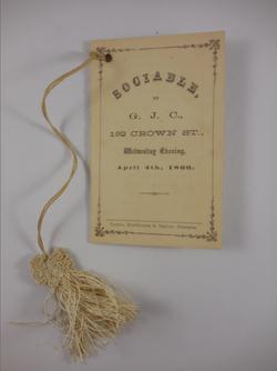 Sociable by GJC (1866)