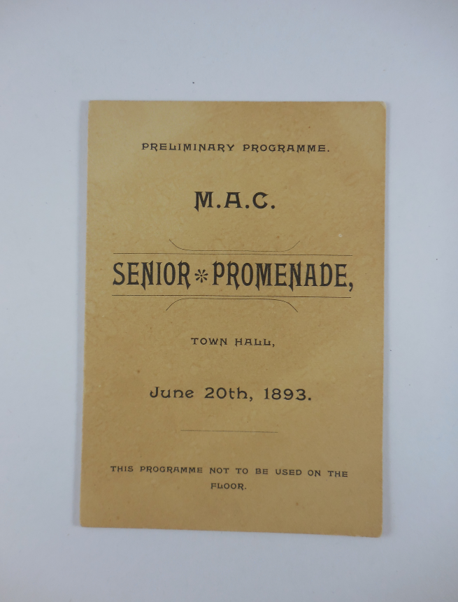 MAC Senior Promenade (1893)
