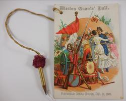 Weston Guards Ball (1885)