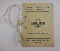Fifth Annual Dance (1914)