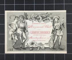 19th Annual Masquerade Ball (1887)