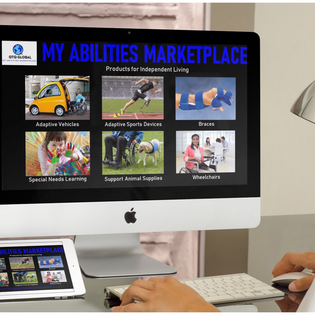 E-shopping and resource portal for people with disabilities