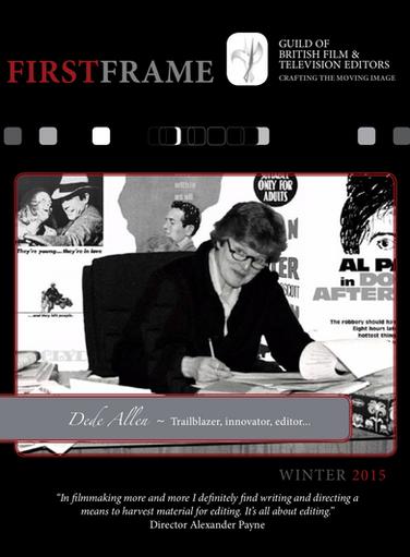 FIRST FRAME Winter 2015