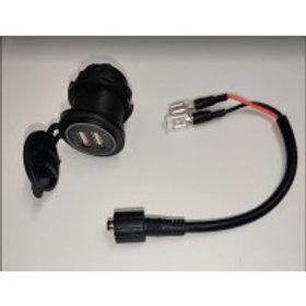FPV-POWER WEATHERPROOF USB - DUAL PORT (2.1A) FOR DASH MOUNT