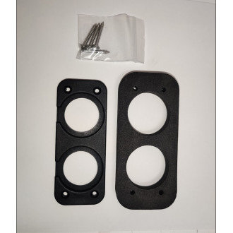 FPV-POWER DOUBLE HOLE DASH MOUNT PLATE