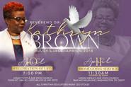 Rev. Kathryn Brown, AME Zion General Secretary, Department of Christian Education dies; Funeral serv