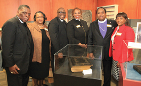Lomax A.M.E. Zion Church Donates Historical Documents