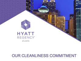 Atlanta Hyatt Regency Shares Commitment to Cleanliness before the 51st General Conference in Atlanta
