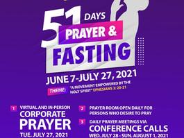 51 Days of Prayer & Fasting