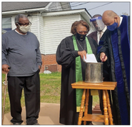Church Ends Calendar Year with Mortgage Burning Ceremony