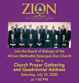 Church Prayer Gathering and Quadrennial Address to be Hosted Online