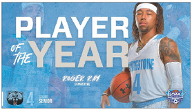 Livingstone's Roger Ray wins CIAA Player of the Year