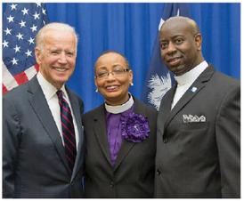 Hines Hosts Vice President Joe Biden
