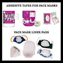 ADHESIVE TAPE & LINERS FOR MASKS REVISED