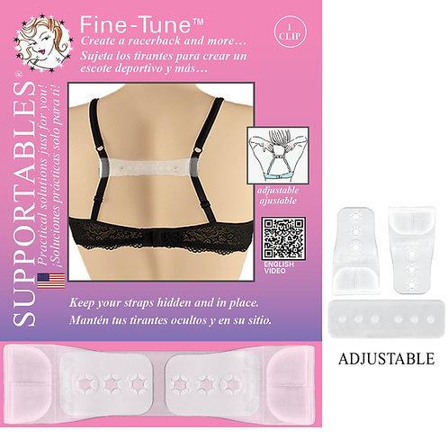 Fine Tune - Clear Bra Strap Clip