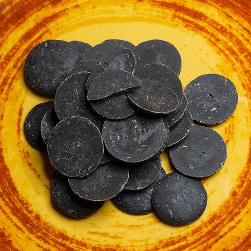 Palets de chocolat noir 70% bio