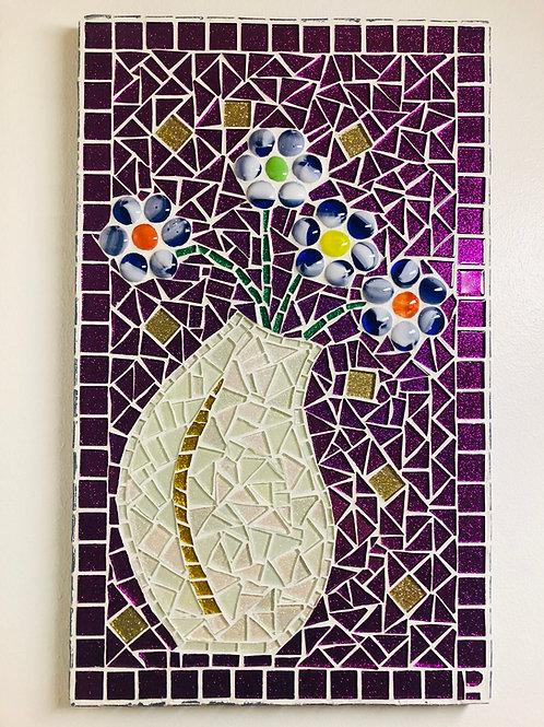 Mosaiikkitaulu 31 x 50 cm