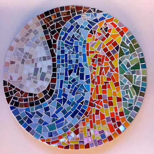 Mosaiikkikulho 30 cm