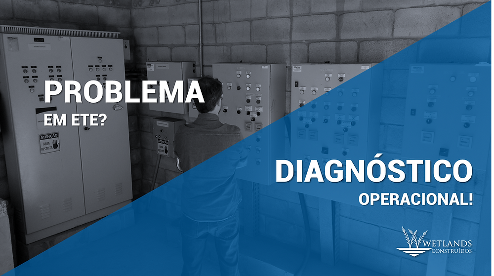 problema em ETE, diagnóstico operacional, problemas operacionais, queda de desempenho operacional