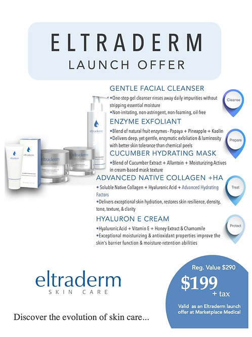 Exclusive Home Spa - eltraderm Launch Offer