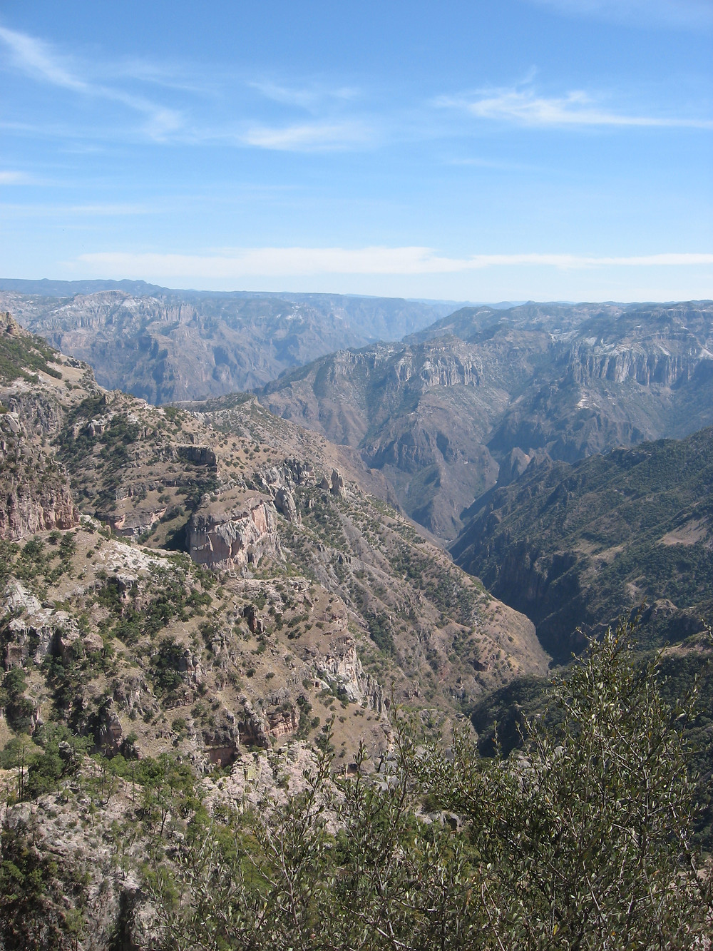Mexico landscape.