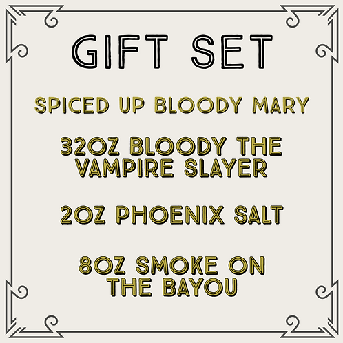 Spiced Up Bloody Gift Set