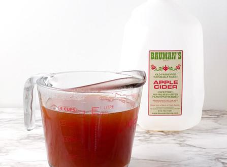 Reduced Apple Cider