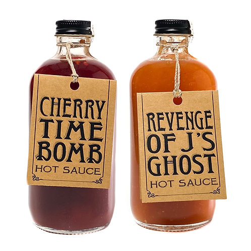 2 Pack Hot Sauce