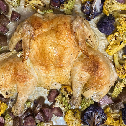 One Pan Chicken Dinner