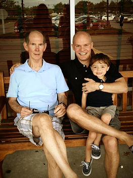 Barry Pfaff, Chad Pfaff and grandson