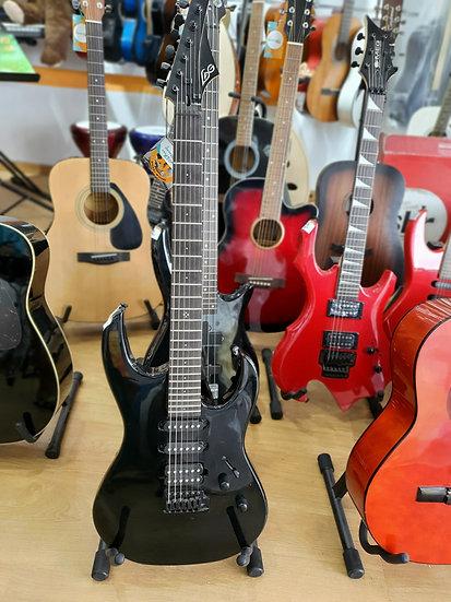 Guitare électrique LAG - NOIR