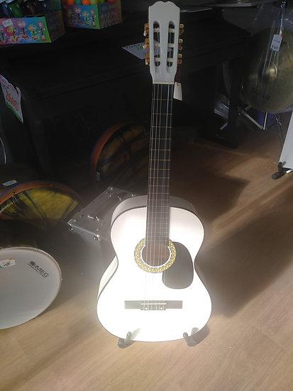 Guitare classique  blanche BROTHER 3/4