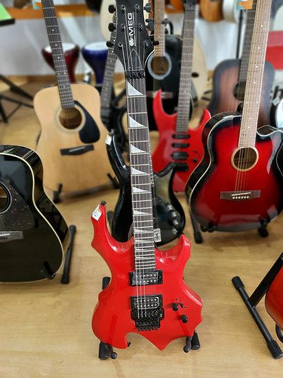 Guitare électrique Rouge MEG