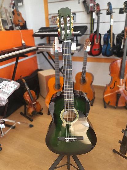 Guitare classique BROTHER 4/4 verte