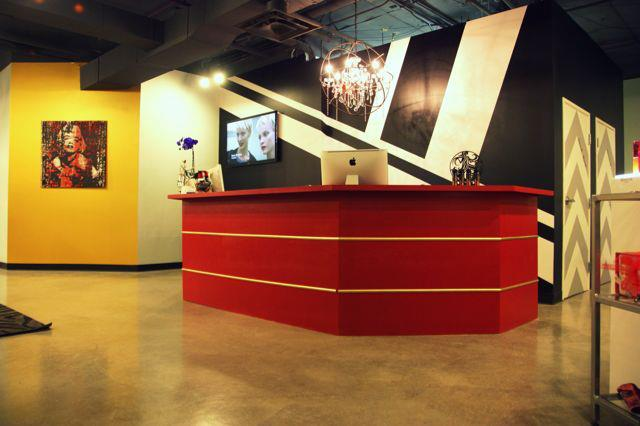Red Stella Salon Reception