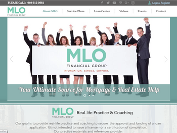 MLO Financial Group Launched a NEW Website System to Help Mortgage & Real Estate Sectors
