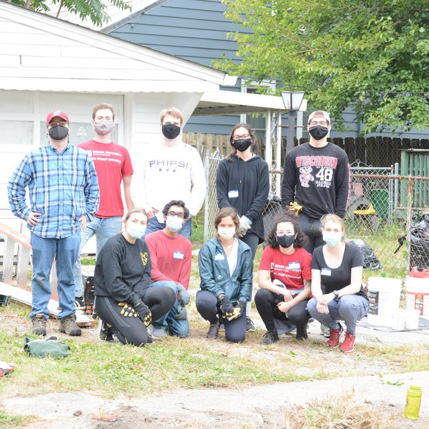 Yard Cleanup & Garage Painting