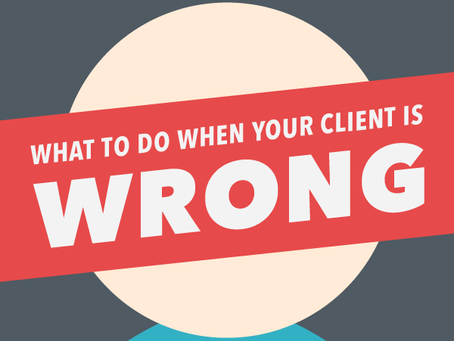 The wrong clients will ruin your life and business. - Jeremy Haynes on Digital Marketing