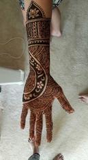 Bridal Hand Design