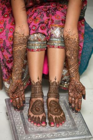 bridal henna by henna artist