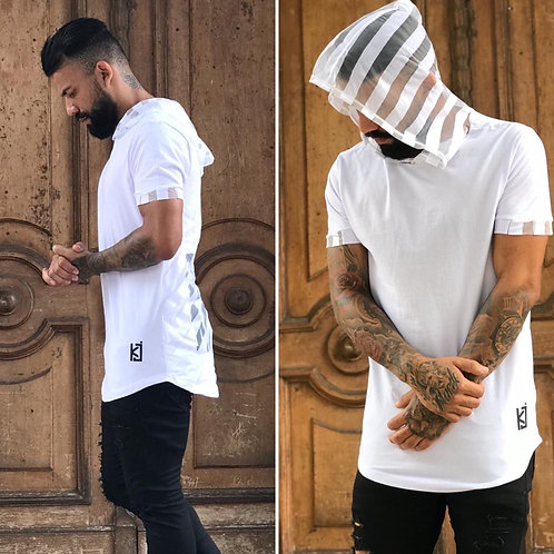 CAMISA KING JOY WHITE CRUZ