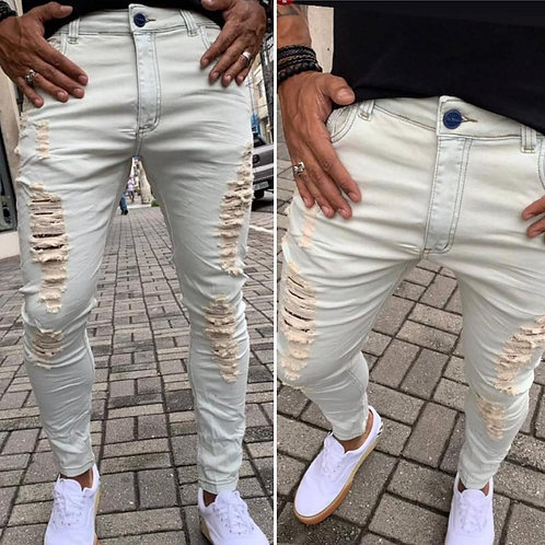 Calça Destroyer City Jeans - Clear