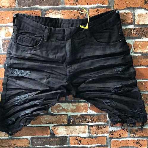 BERMUDA JEANS CITY BLACK